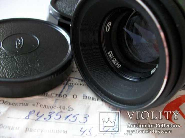 Объектив гелиос 44-2 , м-42 оригинальный заводской комплект, фото №5