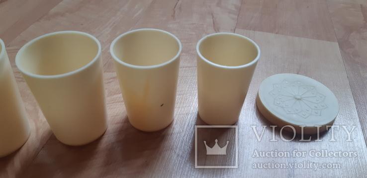 Стаканчик- матрьошка пластик СССР, фото №5
