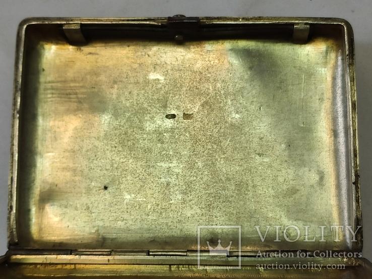 Портсигар с чернью. 84пр., фото №9