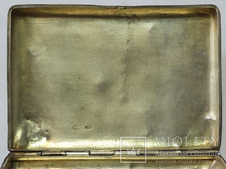 Портсигар с чернью. 84пр., фото №10