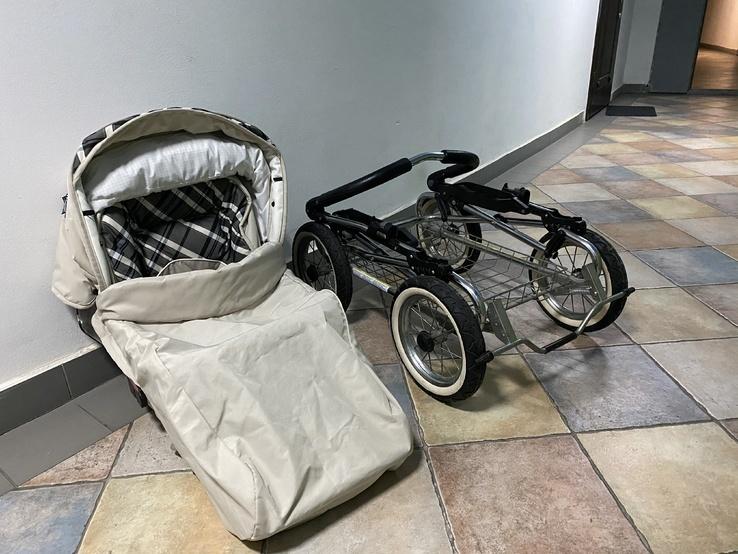 Детская коляска классическая Emmaljunga Edge Duo Combi (Швеция), фото №7