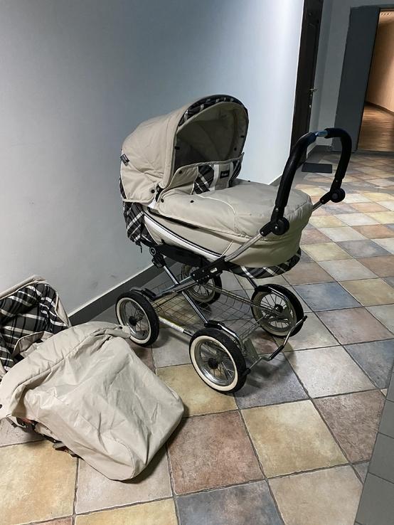 Детская коляска классическая Emmaljunga Edge Duo Combi (Швеция), фото №9