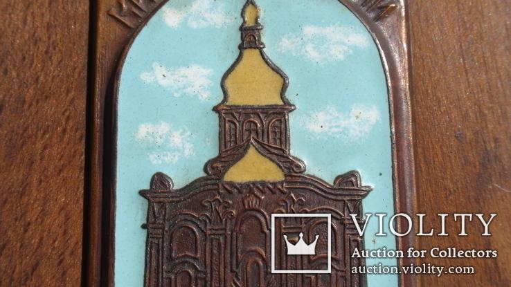 Плакетка Киево-Печерский заповедник, Настольный сувенир Киев, фото №8