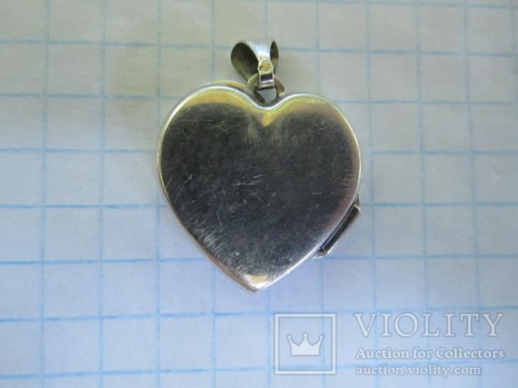 Кулончик под фотографию серебро., фото №9