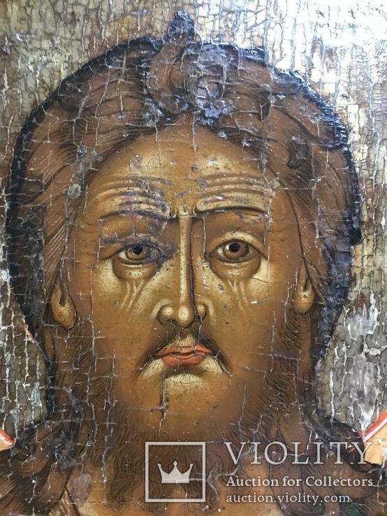Икона Святой Иоанн с предстоящими, фото №5