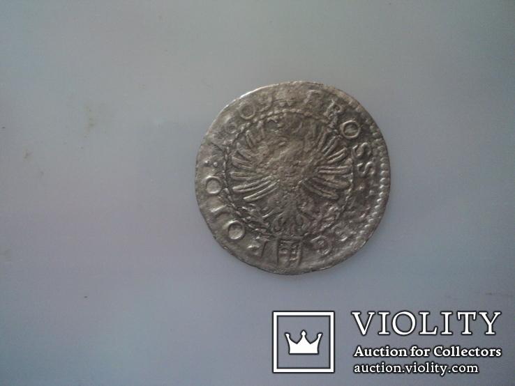 Грош коронный 1609 г, фото №3