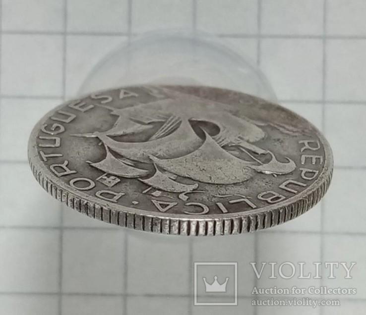 Португалия 2/5 эскудо 1944г серебро, фото №4