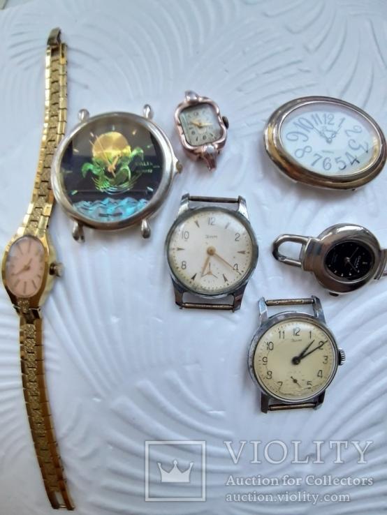 Одним лотом Часы на запчасти Винтаж, фото №2