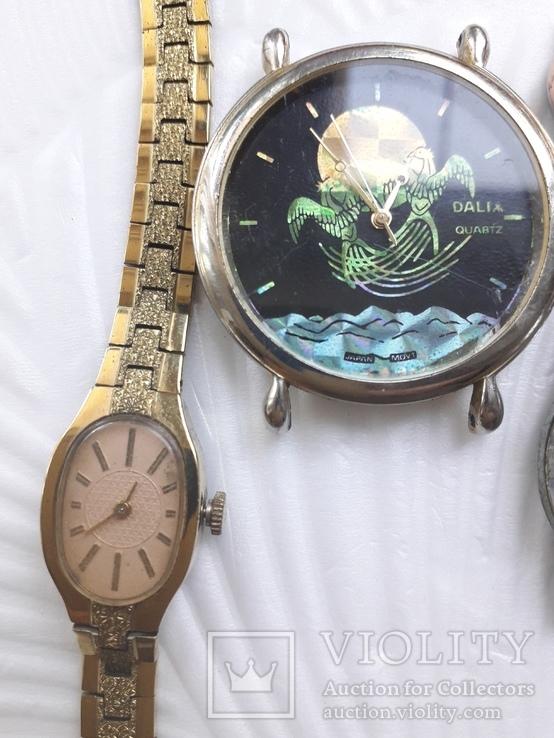 Одним лотом Часы на запчасти Винтаж, фото №4