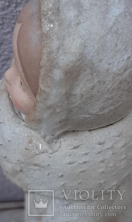 Снегурочка папье-маше,рост 34 см, фото №10
