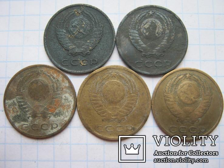 3 копейки 1966г.5шт., фото №5