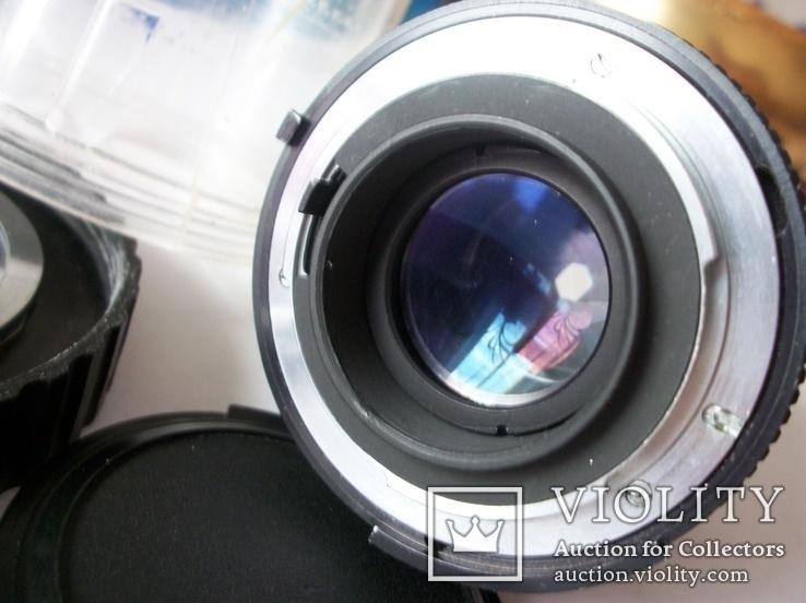 Объектив калейнар-5Н , 2,8/100 футляр, передняя крышка, фото №5