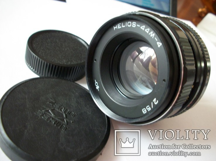 Объектив гелиос 44м-4 ,м-42 [передняя-задняя крышки], фото №2