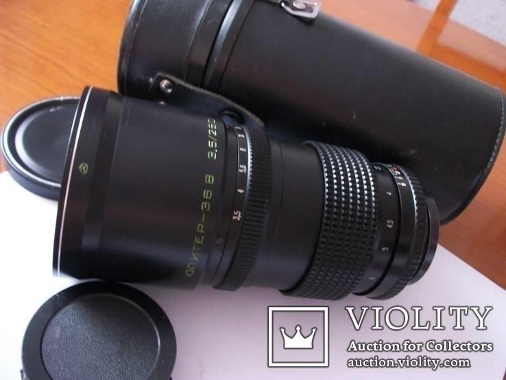 Объектив юпитер-36В к фотоаппарату киев-88[футляр, крышки], фото №2