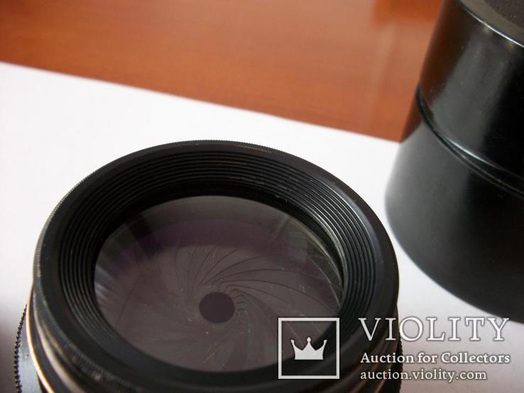 Объектив индустар-51,оригинальные футляр и передняя крышка [для крупноформатных камер], фото №5