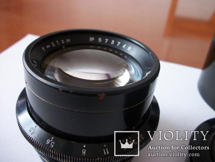 Объектив индустар-51,оригинальные футляр и передняя крышка [для крупноформатных камер], фото №7