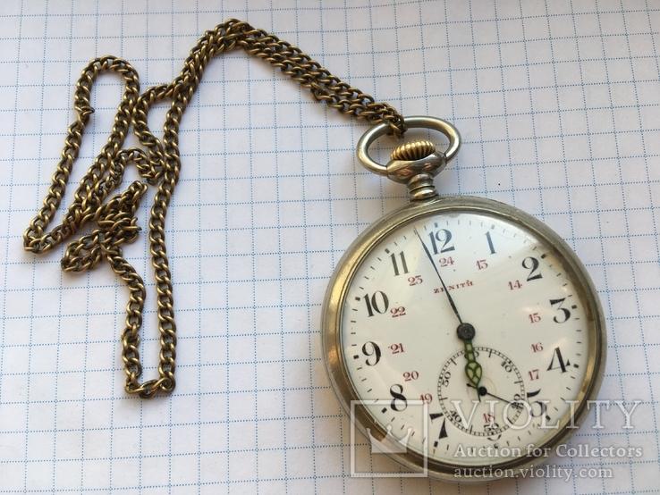 Часы Швейцарские Zenith на отличном ходу с шатленом