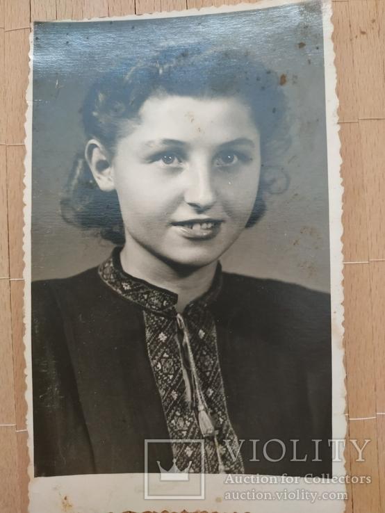 Девушка Украинка Сталинское ателье, фото №2