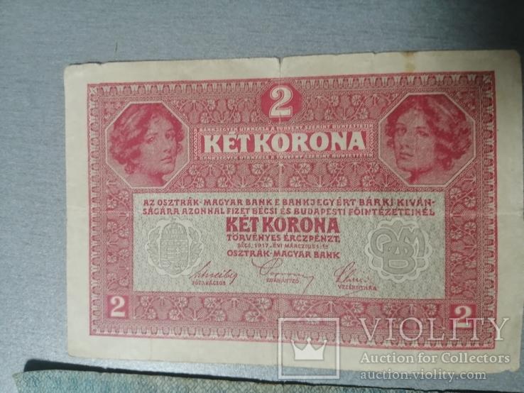 2 кроны и 20 крон 1913, фото №3