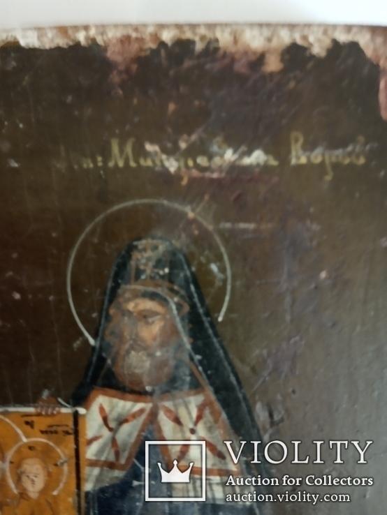 Икона Святители Митрофан Воронежский и Тихон Задонский чудотворцы., фото №6