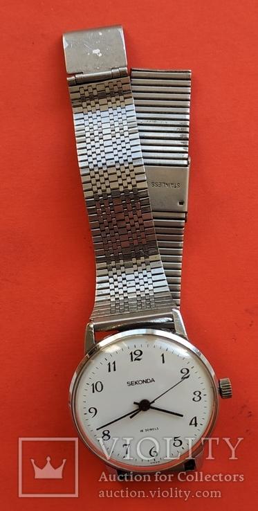 Часы SEKONDA  19 jewels  USSR, фото №4