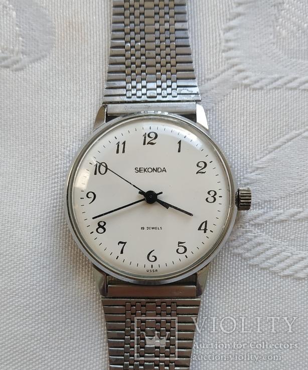 Часы SEKONDA  19 jewels  USSR, фото №5