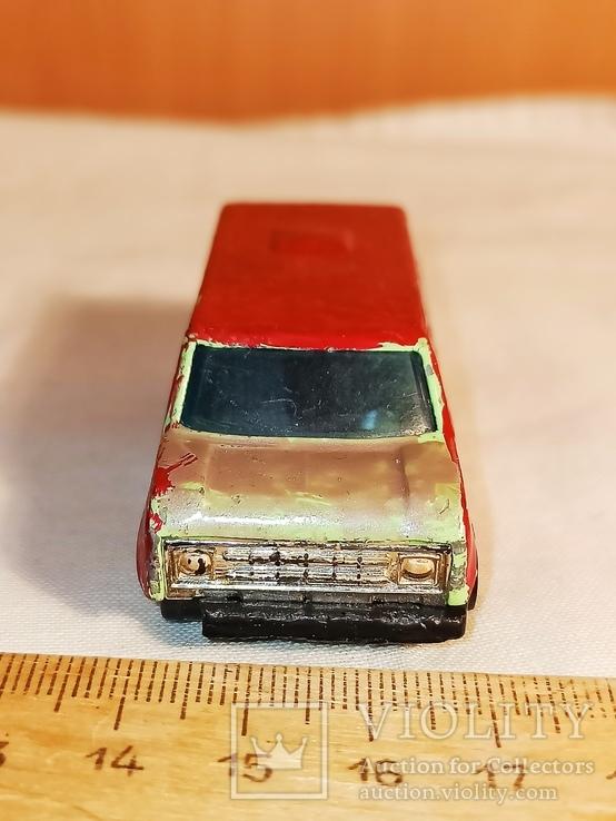 Инерционная модель автомобиля минивэн., фото №3