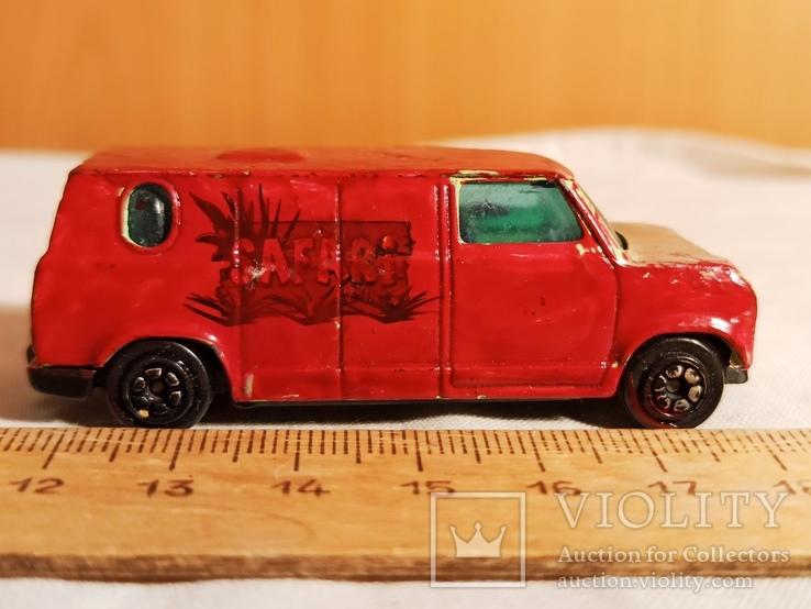 Инерционная модель автомобиля минивэн., фото №4