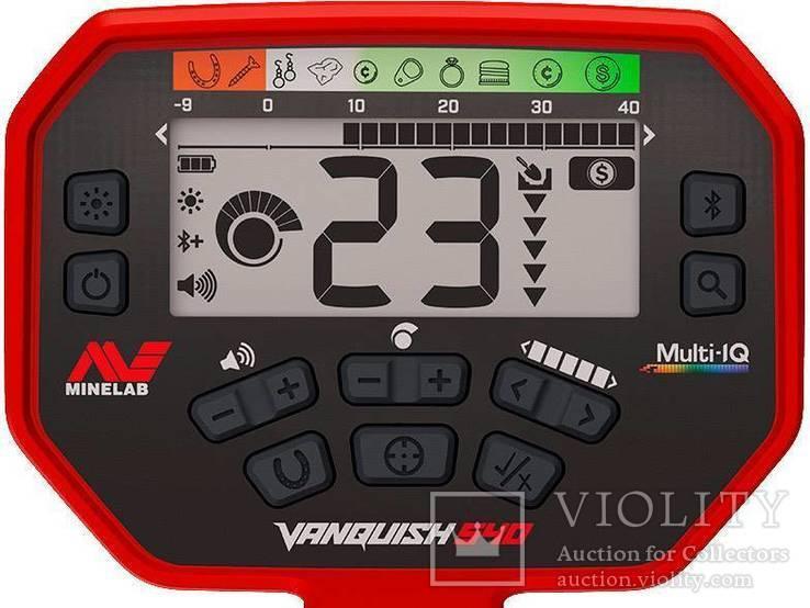 Металлоискатель Minelab Vanquish 540 Pro-Pack, фото №3