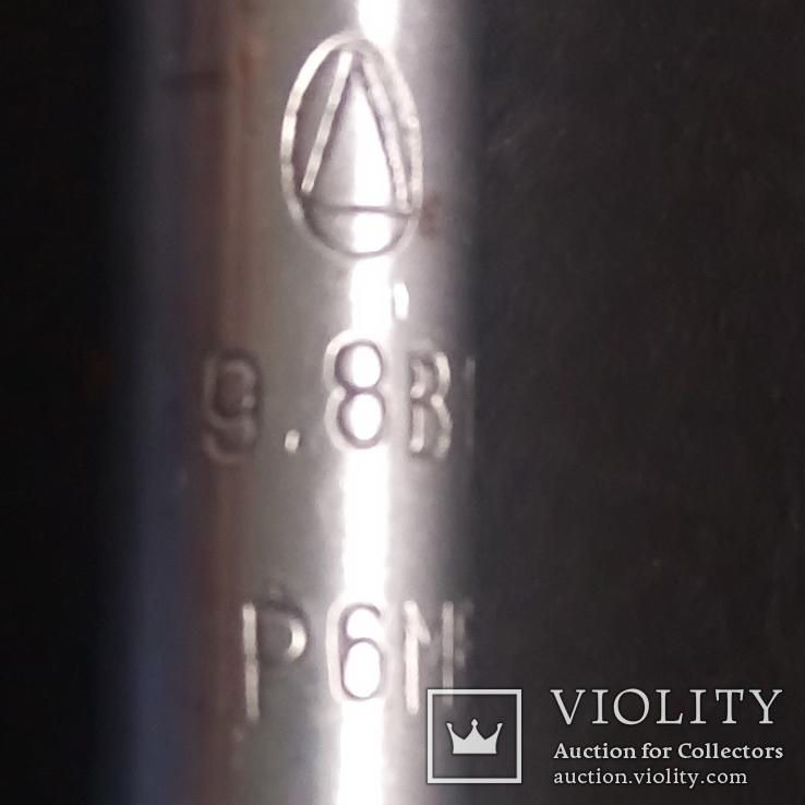 Сверло советское диаметр 9,8 мм новое СССР Р6М5, фото №5