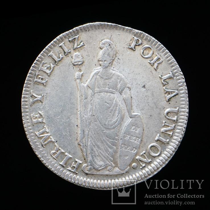 8 Реал 1832, Перу aUNC
