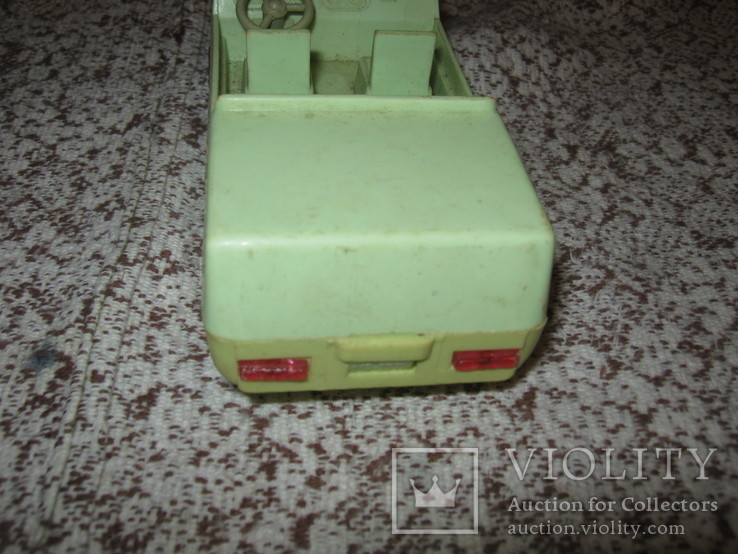 1. Машинка, СССР, пластик, фото №5