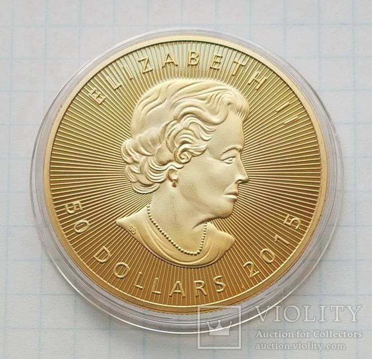 Канада. 50 долларов 2015 г. Копия, фото №2