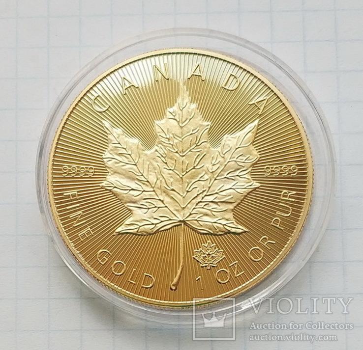 Канада. 50 долларов 2015 г. Копия, фото №3