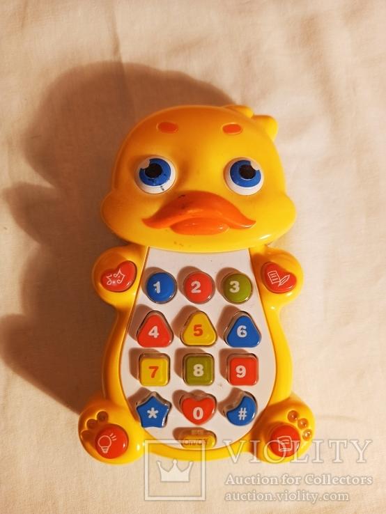 """Игрушка """"Телефон Утёнок""""., фото №2"""