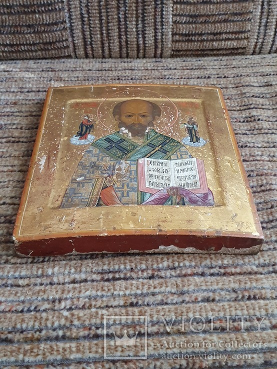 Икона святой Николай, фото №5