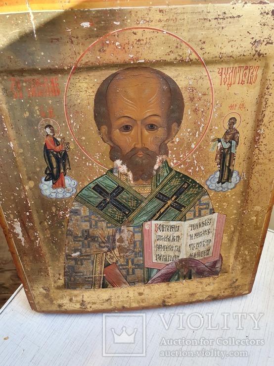 Икона святой Николай, фото №12