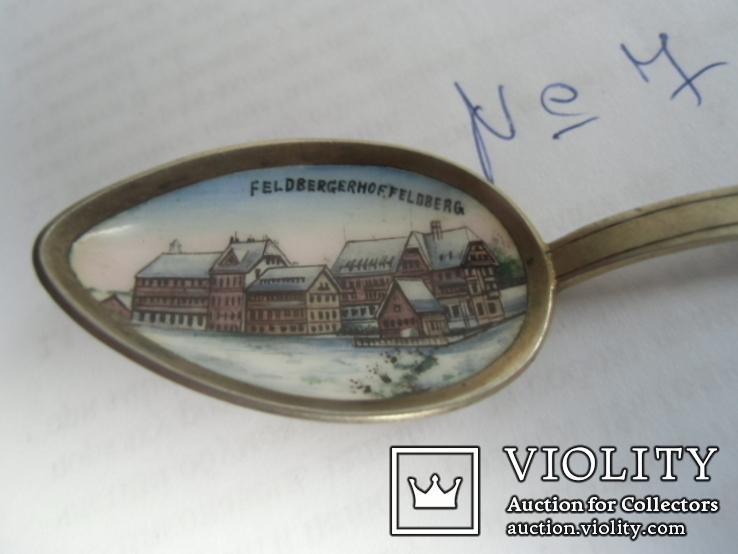 Ложка сувенирная серебро №7, фото №3