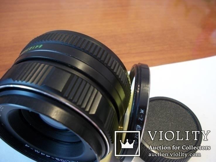 Объектив гелиос-44-м-4 светофильтр и задняя крышка, фото №4