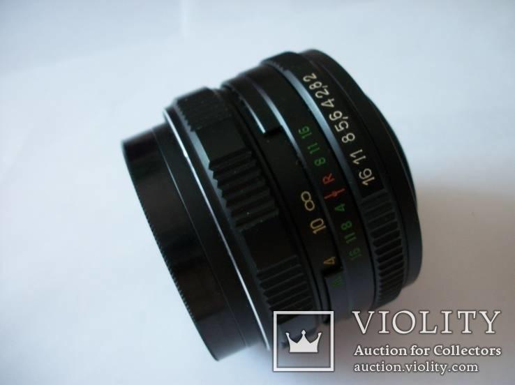 Объектив нов мс гелиос-44м-7 светофильтр, фото №5