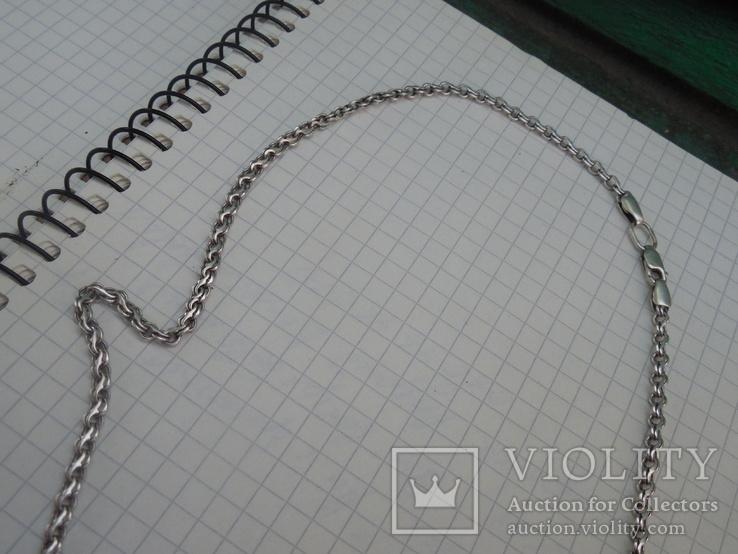 Серебрянная цепочка с крестиком, фото №8