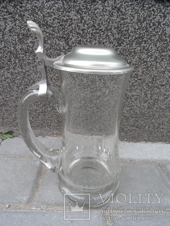 Пивная кружка Cтекло  0,5 L Европа, фото №8