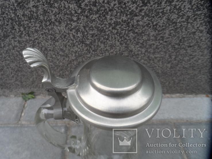 Пивная кружка Cтекло  0,5 L Европа, фото №9