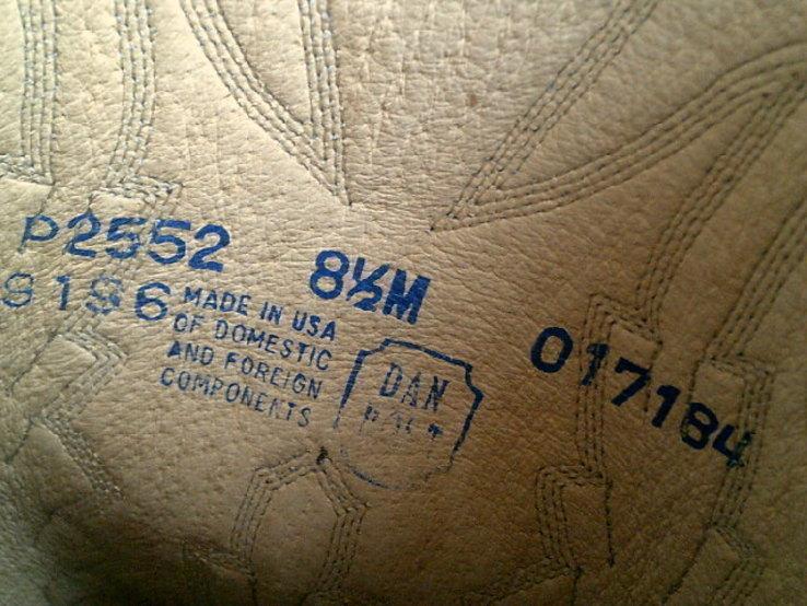 Кожаные вестерн  сапоги (USA) разм.40, фото №12