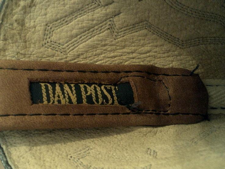 Кожаные вестерн  сапоги (USA) разм.40, фото №13