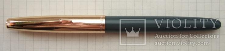 """Перьевая ручка """"Kin Sin-224"""" 70-е. Пишет очень мягко. тонко и насыщенно, фото №3"""