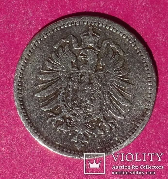 50 пфенигов. 1875 год, Германия. АА., фото №4