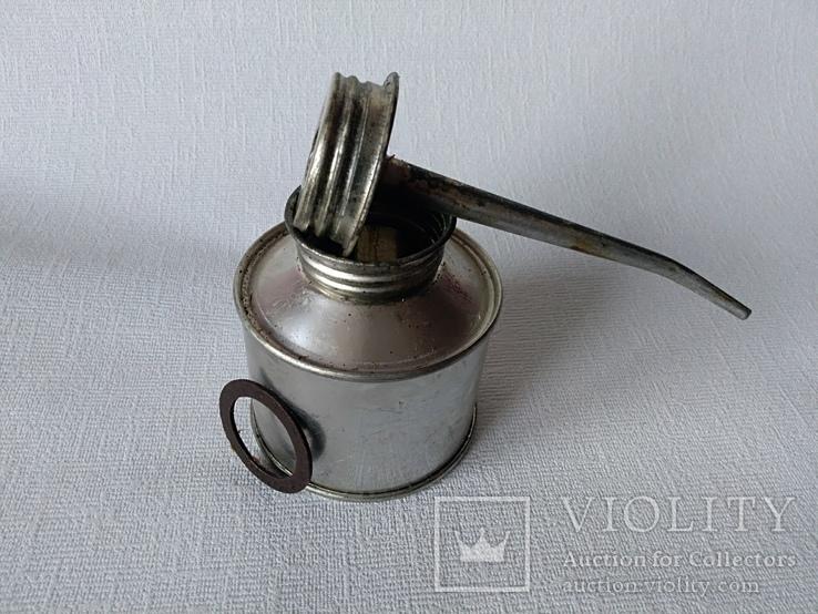 Масленка металлическая средняя Лот №2, фото №8