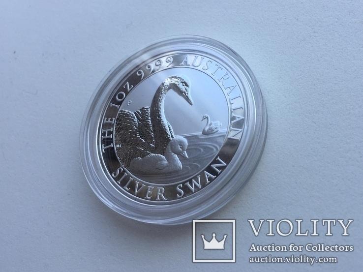 Лебедь Австралии 2019 Swan Серебро, фото №4