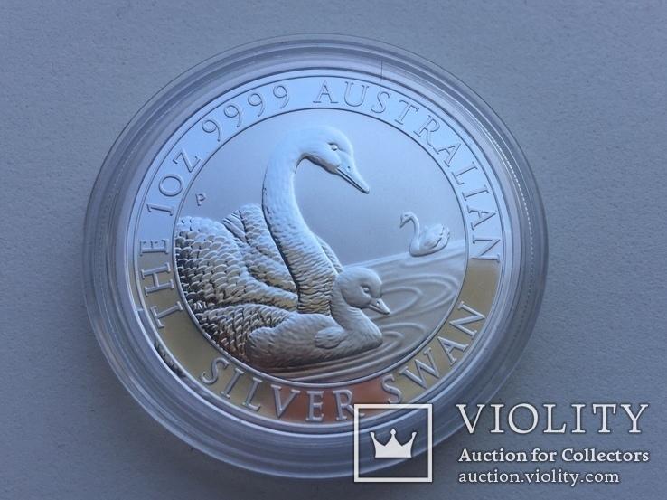 Лебедь Австралии 2019 Swan Серебро, фото №5